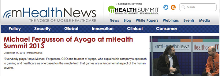 mHealth News_ See Michael Fergusson talk at the mHealth Summit