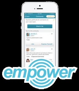 ayogo empower platform on mobile