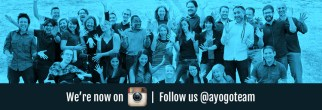 Follow ayogo on instagram @ayogoteam