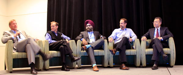 Vancouver Tech Companies Create Silicon Valley North - Finance Panel Discussion at Vancouver's Interface Summit 2015.