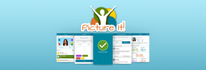Picture It! Weight Loss App Landing Screen
