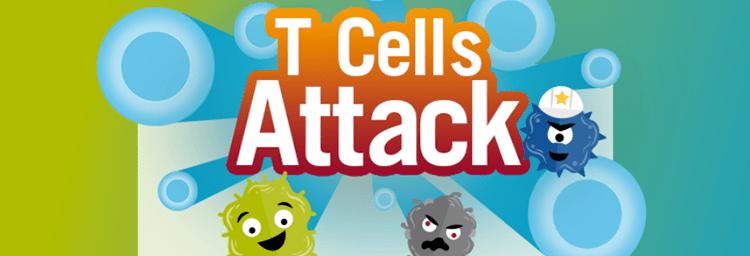 award winning health games - t cells attack